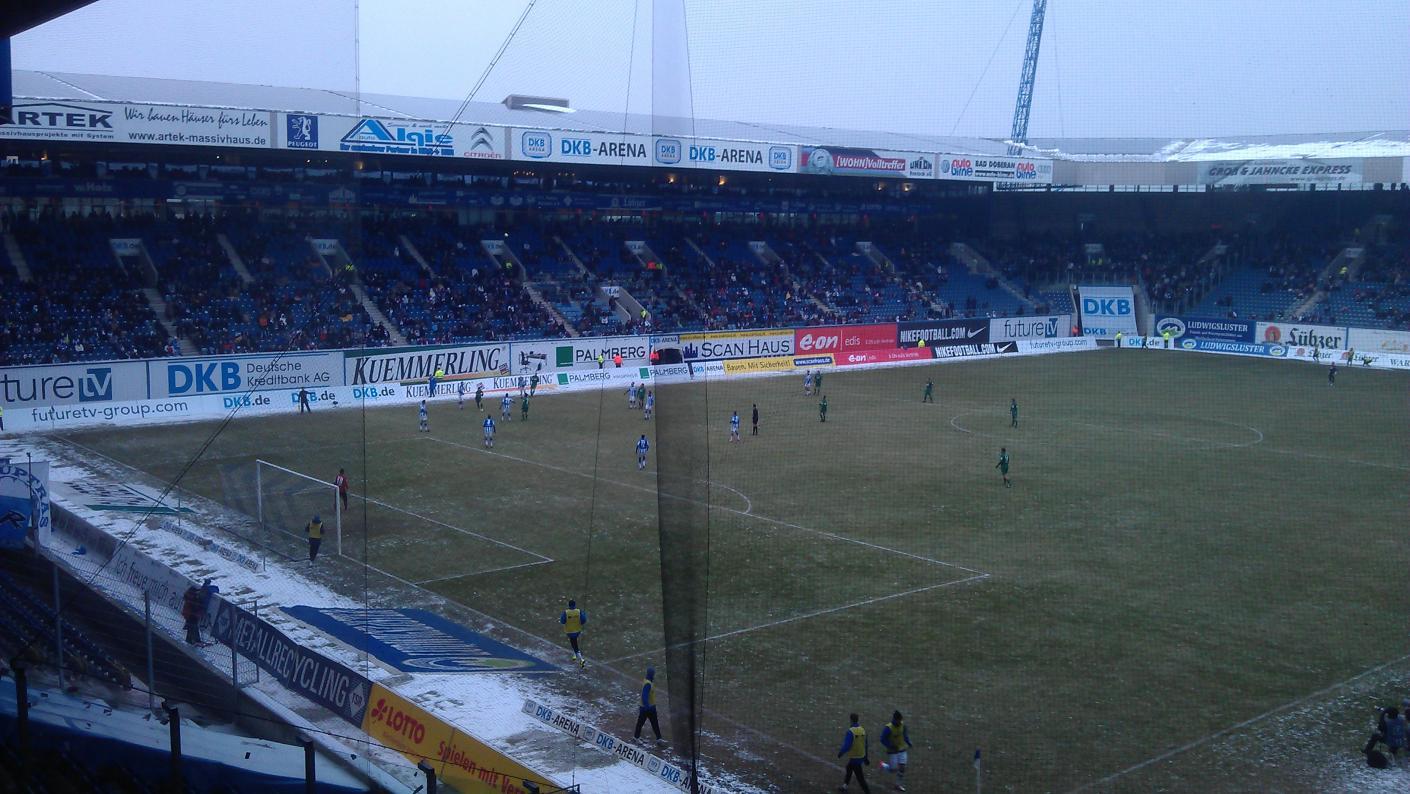 Ostseestadion Gästeblock